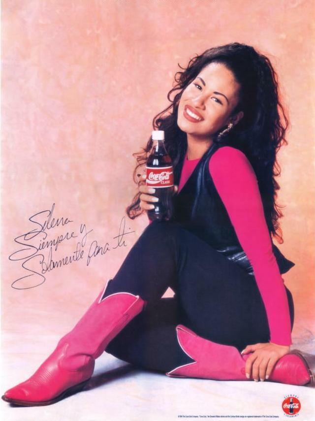 Selena and Coca-Cola